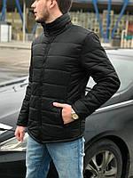 Куртка зимняя мужская черная. Качество! Живое фото!