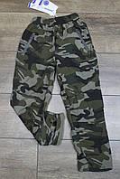 Утепленные спортивные штаны. ( Плащевка на флисе ). 8- 14 лет