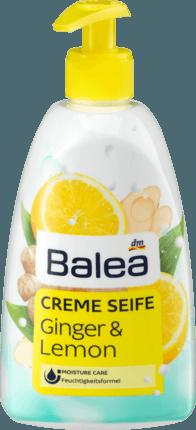 Жидкое мыло имбирь-лимон Balea Creme Seife Ginger&Lemon