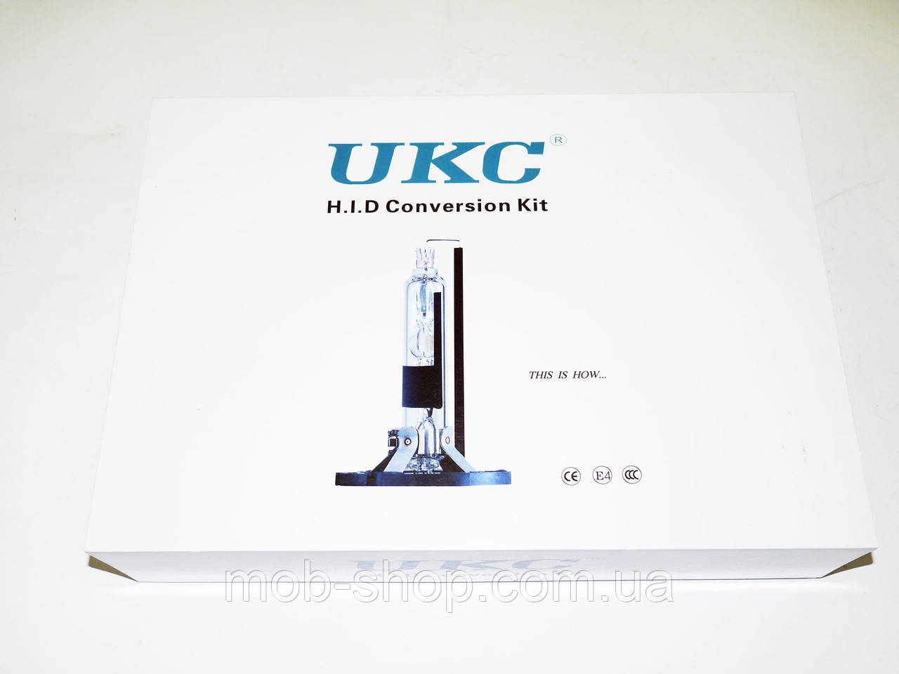 Автомобильный Ксенон Xenon UKC H3 HID 6000К