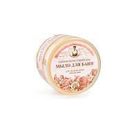 """Натуральное сибирское мыло для бани Рецепты бабушки Агафьи """"Цветочное"""" для ухода за телом и волосами 500мл"""