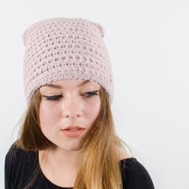 """Удлиненная женская шапка """"Viola"""""""