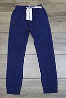 Утепленные катоновые брюки на флисе. 7- 8 лет.