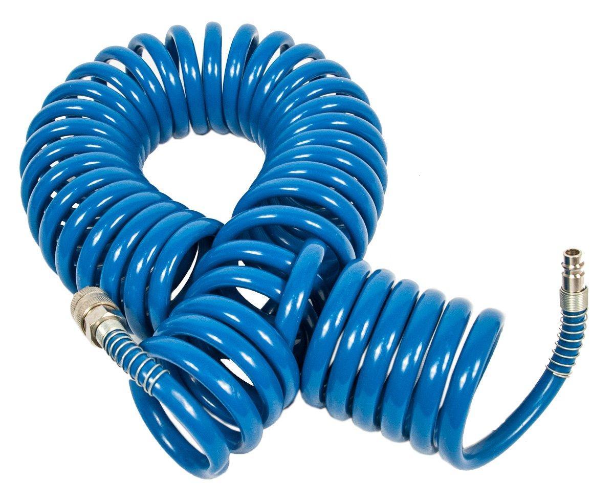 Шланг спиральный полиуретановый  8*12мм 10м