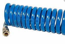 Шланг спиральный полиуретановый  8*12мм 10м, фото 2