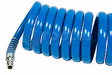 Шланг спиральный полиуретановый  8*12мм 10м, фото 3