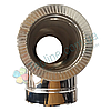 Трійник-сендвіч 87° для димоходу d 110 мм; 0,5 мм; AISI 304; неіржавіюча сталь/неіржавіюча сталь - «Версія-Люкс», фото 2