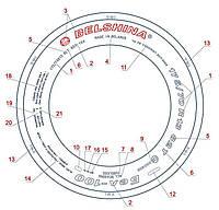 Шина 14.00-20 ФБЕЛ-67 б/у 22 слойная белшина
