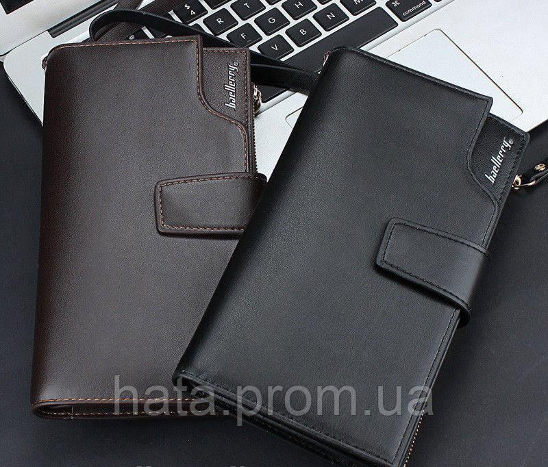 635c3c8b62ba Мужской кожаный клатч кошелек портмоне Baellerry - Интернет-Магазин ХАТА в  Киеве