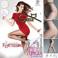 Женские колготы 20 ден. Нервущиеся капроновые тонкие колготки с трусиками Gatta™