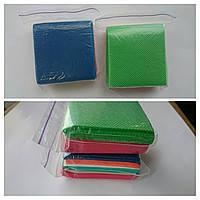 Салфетки безворсовые для маникюра (цветные) 45г/м2, 6х6см, 100шт/уп