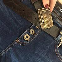 Молодежные женские джинсы бойфренды на болтах с ремнем турция