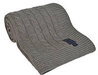 Вязаный плед 130х170   BOSTON CASUAL AVENUE Warm Gray