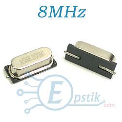 Кварцевый резонатор 8MHz., HC-49SM, SMD