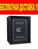 Сейф встраиваемый Griffon  WB.6040.E  + Бесплатная доставка