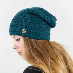 """Удлиненная женская шапка """"Viola"""", фото 2"""