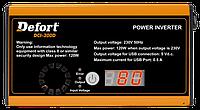 Инвертор автомобильный Defort DCI-300D