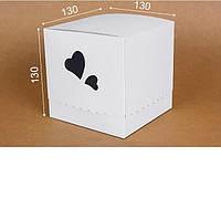 """Коробка. Модель №0040 """"Милан"""". Код М0040-о2. Белая, фото 1"""