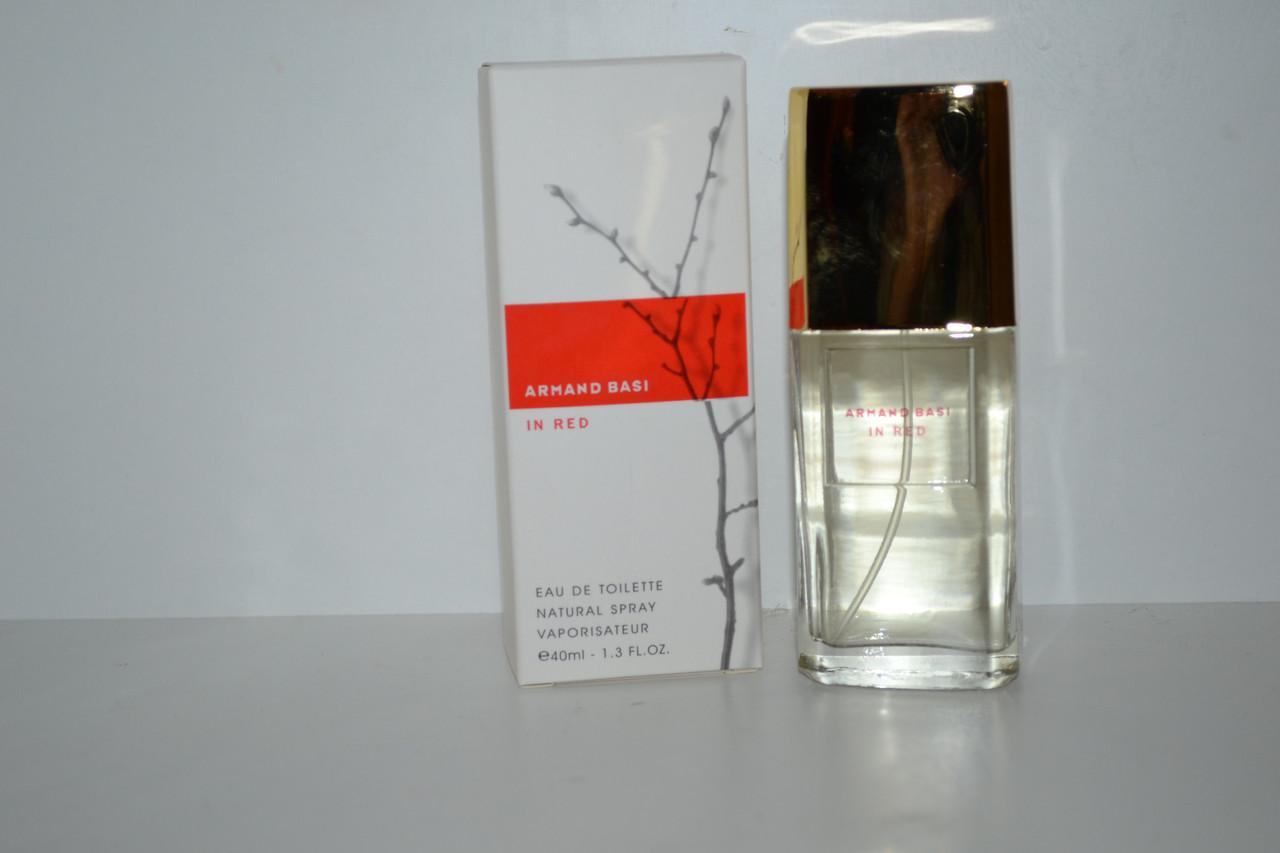 Женская парфюмированная  вода Armand Basi In Red 40 мл