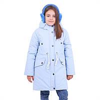 Куртка-парка детская зимняя ANGELA на 6-12 лет
