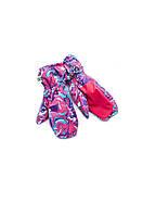 """Варежки и рукавицы зимние для девочки """"Art pink"""", непромокаемые"""