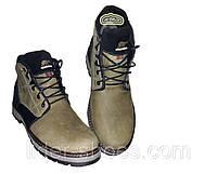 Зимние мужские ботинки на толстой подошве