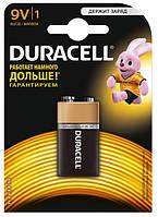 Батарейки DURACELL 9V / MN1604  крона  Blister 1