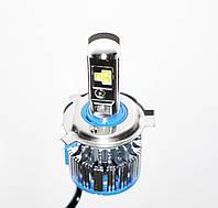 БиКсенон светодиодный Led Н4 5000к 40W