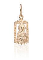 Золотая подвеска-иконка.П504