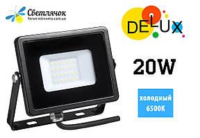 Прожектор светодиодный 20W DELUX FMI 6500К 2835SMD