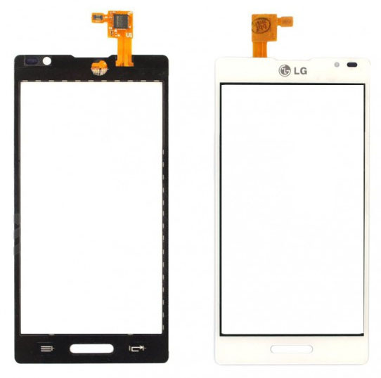 Сенсор LG Optimus L9 P760, P765, P768 white, тач скрин для телефона см