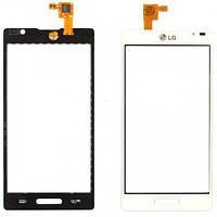 Сенсор (тач скрин) LG Optimus L9 P760, P765, P768 white (оригинал)