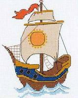 Набор для вышивания крестом Риолис НВ-129 По волнам м 13х16