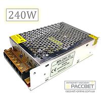Блок питания 240Вт по оптовой цене MN-240-12 (12V 20А)