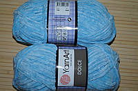 YarnArt Dolce - 749 голубой, фото 1