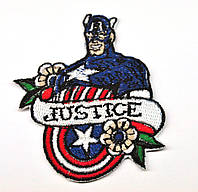 Нашивка патч Captain America (Капитан Америка)