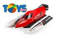 Катер на р/у High Speed Boat бесколлекторный красный, WL-WL915R