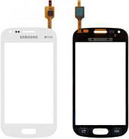 Сенсор (тач скрин) SAMSUNG Galaxy S Duos S7562 white