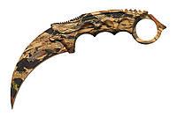 Нож нескладной керамбит 16853, фото 1