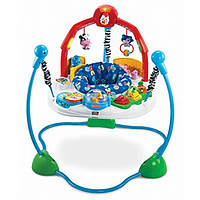 Fisher-Price напольные прыгунки Веселая ферма Laugh and Learn Jumperoo