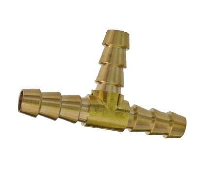 Трійник 6мм зубчастий для трубки (метал) (в-во RIDER)