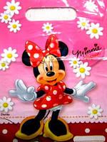 Пакетик подарочный Минни Маус с ромашками