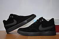 Зимние мужские ботинки Nike.Натуральная кожа.