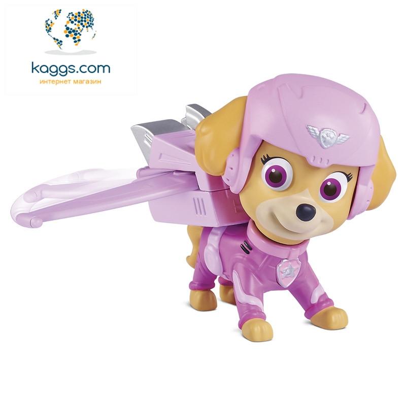 Щенячий патруль: колекційна фігурка Скай з літальним апаратом SM16669-3 Spin Master