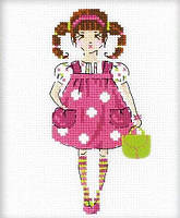 Набор для вышивания крестом Риолис НВ-148 Куколка 13х16