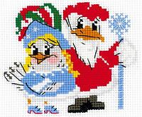 Набор для вышивания крестом Риолис НВ-170 Новогодний маскарад ш 18х15 см