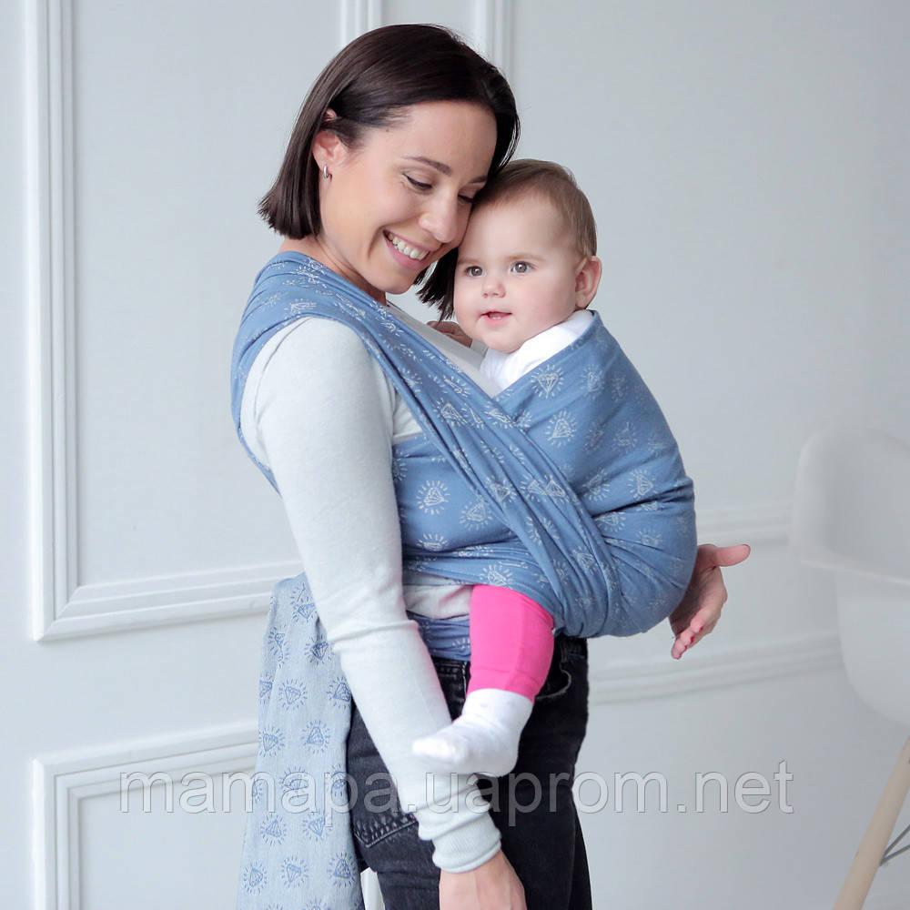 Тканый слинг-шарф Love & Carry — СОКРОВИЩЕ бесплатная доставка новой почтой с рождения 950-1150грн, фото 1