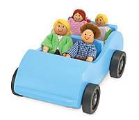 """Игровой набор """"Дорожная машинка с куклами"""" Melissa&Doug"""