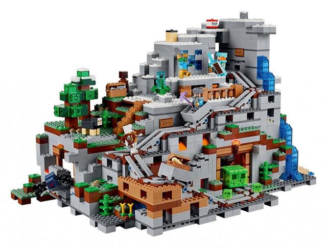 Lele 33067Горная пещера аналог Lego Minecraft 21137