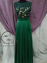 Вечернее платье зеленое/ выпускное платье